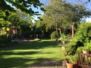 Der Garten in der Rheinaue