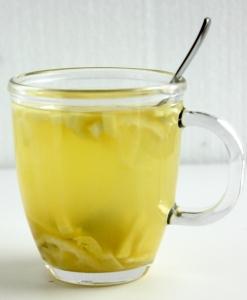 Heiße Ingwer Zitrone